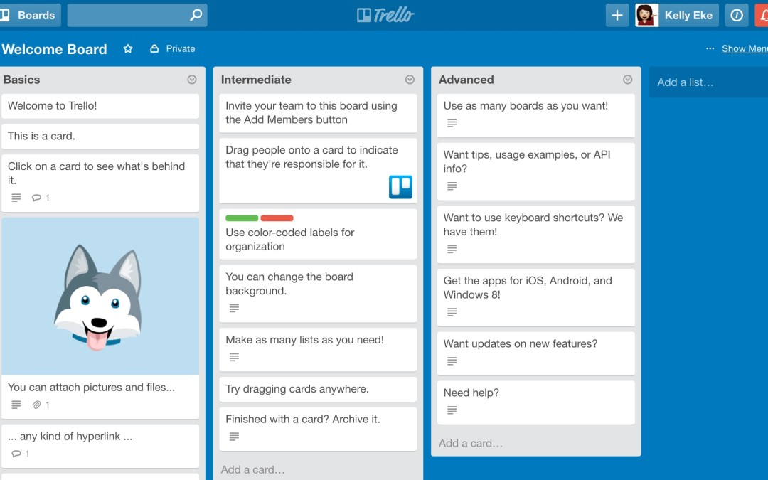 TRELLO – My new favourite app!